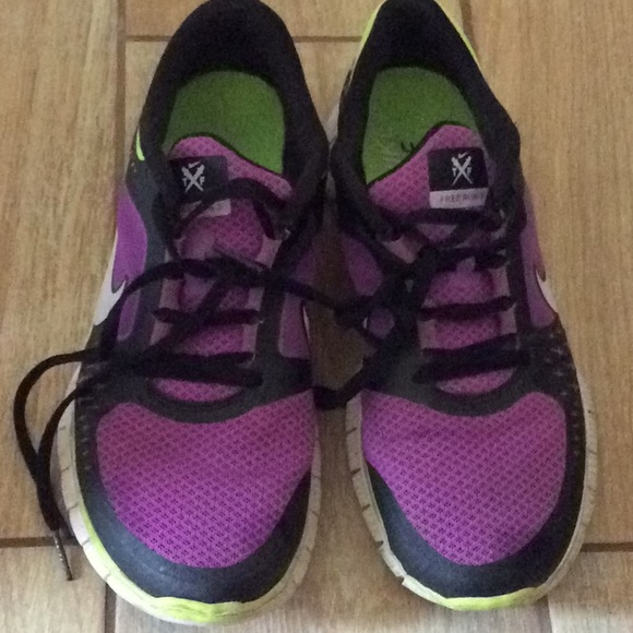 size 40 4935a 6e991 Nike Free run 3 sneakers purple black and yellow. M 5b82d7bf5bbb80c5304f062c